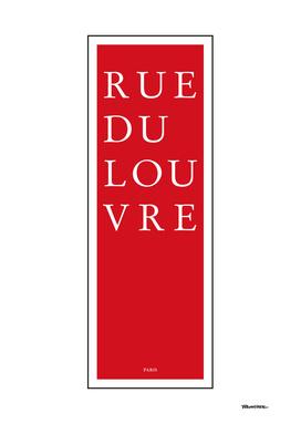 Rue du Louvre - Paris