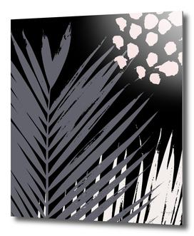 Leaves on Black 2