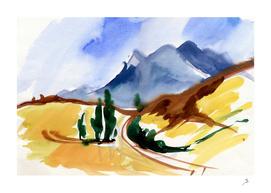 Mountain road 2