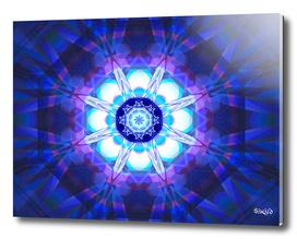 Crystal Refraction - Blue