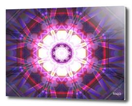 Crystal Refraction - Pink & Purple
