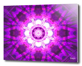 Crystal Refraction - Pink