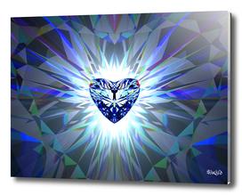 Heart Jewel - Blue