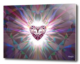Heart Jewel - Pink