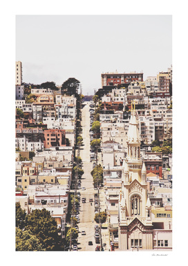 cityscape at San Francisco, USA