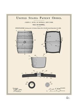 Beer Keg Patent