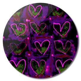 Hearts In The Window ~ Glow of Love