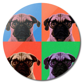 Geek Pug 4 colors