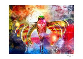 Hummingbird Painted