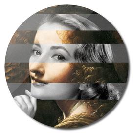 Leonardo's Angel (Virgin of the Rocks) & Grace Kelly