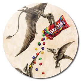 Jurassic skittles