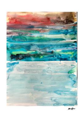 Miami Beach Watercolor #5