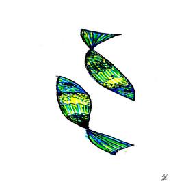 Jeweled Fishes I