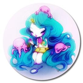 Ice Cream Octopus Queen