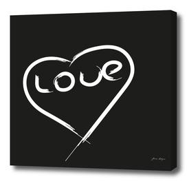 valentine heart vector icon-font design