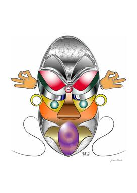 Tribal mask or totem
