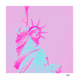 Pop Art Statue of Liberty