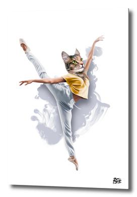 Dancing Cat Girl Pepe Psyche