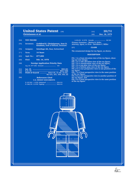Toy Figure Patent v1 - Blueprint