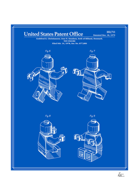Toy Figure Patent v3 - Blueprint