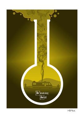 Breaking Bad - Minimal TV Poster - Yellow