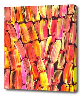 Red Orange Sugarcane