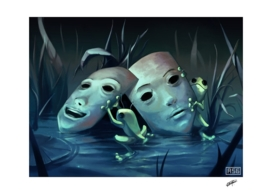 La fable des deux grenouilles