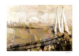 Patches of Mumbai - Bandra Sea Link