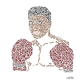 Boxer Mohamed Ali