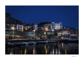 Getaria city, Spain.