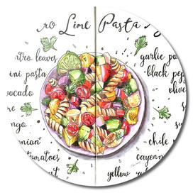 Cilanrto-Lime Pasta Salad