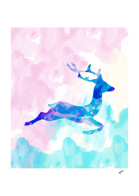 Abstract Deer X