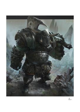 Orc war hammer fan art