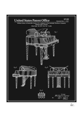 Piano Patent - Black