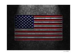American Flag Stone Texture