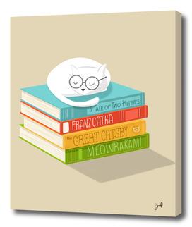 The Cat Loves Books