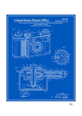 Camera Patent - Blueprint