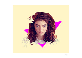 Lorde Low Poly