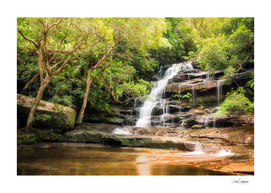 Somersby Falls, NSW, Australia.