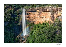 Rainbow at Fitzroy Falls -NSW, Australia.