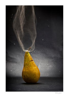 Pear. Thoughts.