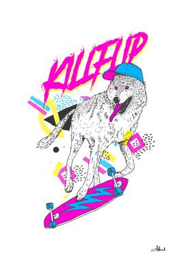 Kickflip Wolf