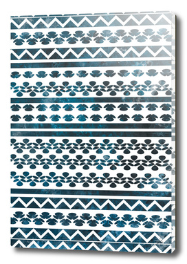 Ethnic pattern with watercolors