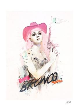 Be a wild untamed bronco
