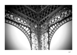Eiffel Tower details - Paris France