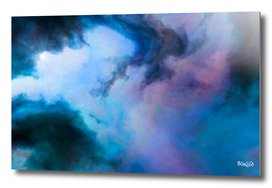 Nebula Cloud - Blue/Purple