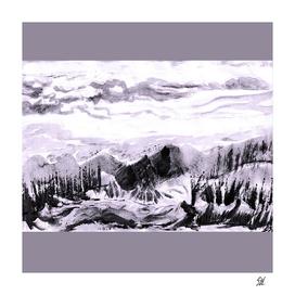 Five Paths ~ Black & White