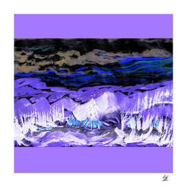 Five Paths ~ Snowy Night