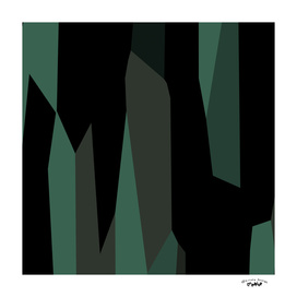 green gray and black abstract