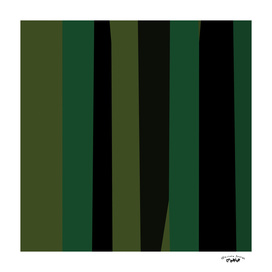 Green and black abstract 5